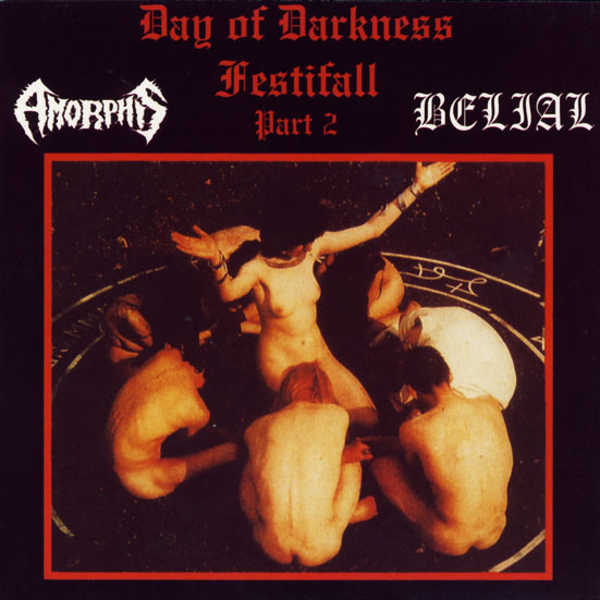 AMORPHIS / BELIAL : Day of Darkness Festival Part 2