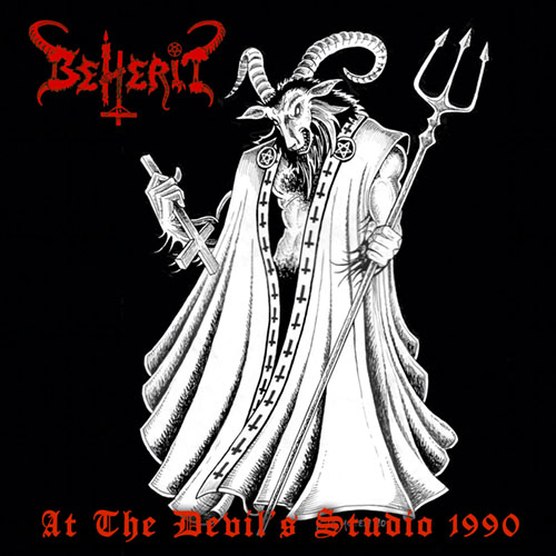 BEHERIT : At The Devil's Studio 1990-LTD. LP (Red)