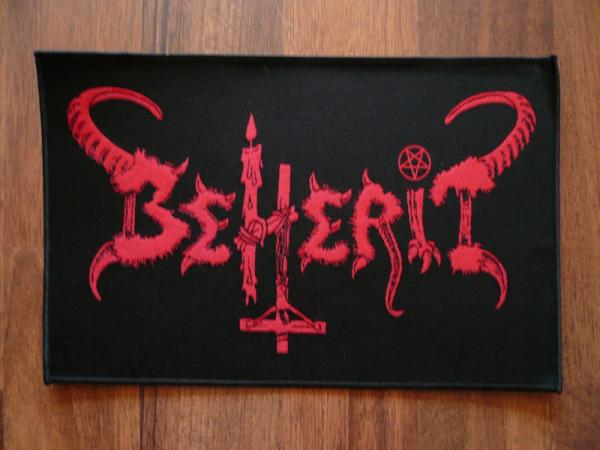 BEHERIT : Old Logo Red