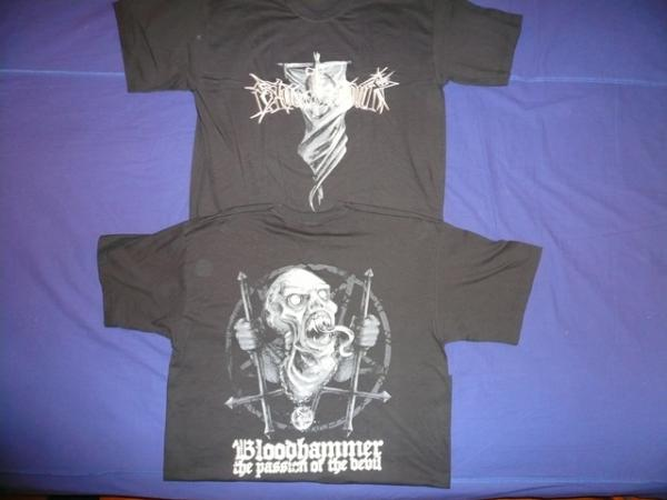 BLOODHAMMER : The Passion of the Devil TS L-Size