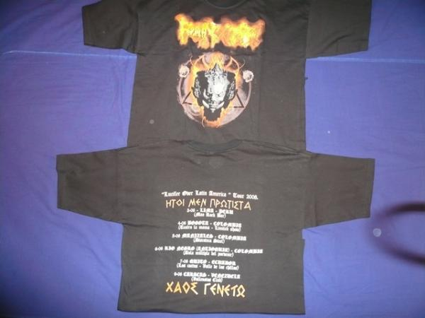 ROTTING CHRIST : Lucifer Over Latin America TS M-Size
