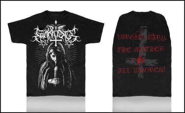 EPÄKRISTUS : Virgin Mary, The Mother of All Whores! TS, XL-Size