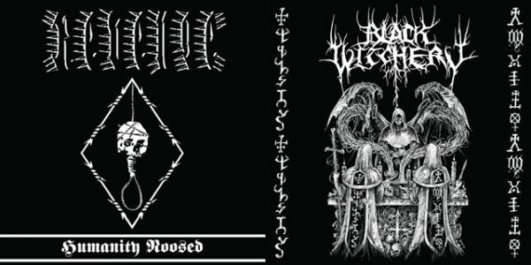 BLACK WITCHERY / REVENGE : Holocaustic Death March to Humanity's