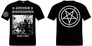 SATANIC WARMASTER : Strenght & Honour TS S-Size