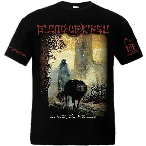 BLOOD OF KINGU : Sun in the House of Scorpion TS XL-Size