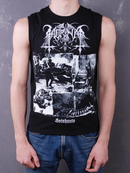 HORNA : Sotahuuto Sleeveless Shirt XL-Size